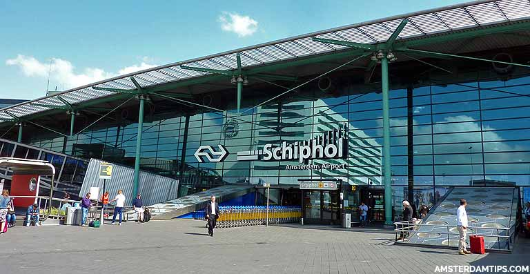 Schiphol Airport to Amsterdam Central by Train, Bus, Shuttle