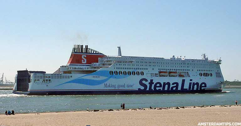 Ferry Services England to Holland