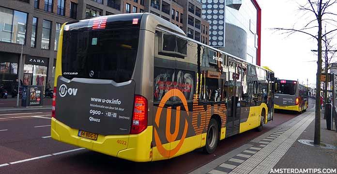 u-ov utrecht bus