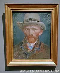 van gogh self-portrait rijksmuseum amsterdam