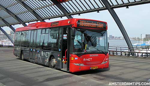waterland bus amsterdam