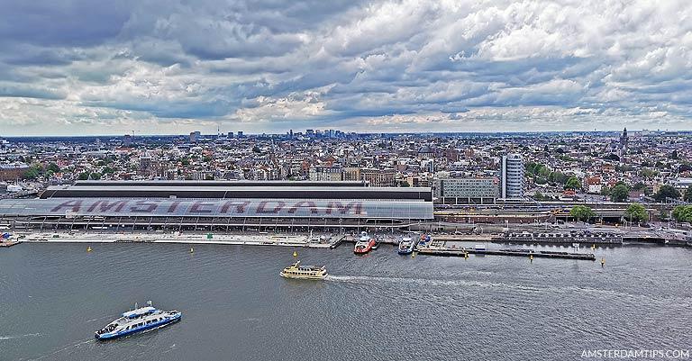 a'dam lookout - panorama amsterdam