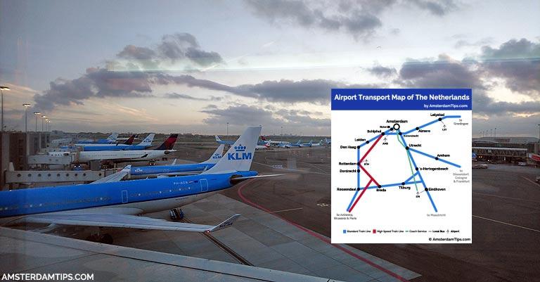 airport transport map header