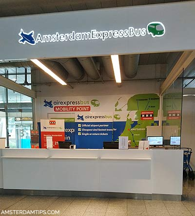 airexpress bus desk eindhoven airport