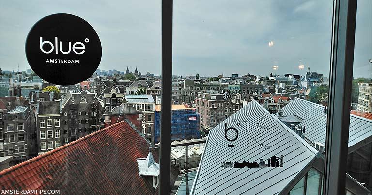 blue amsterdam cafe