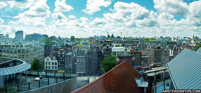 blue amsterdam panorama