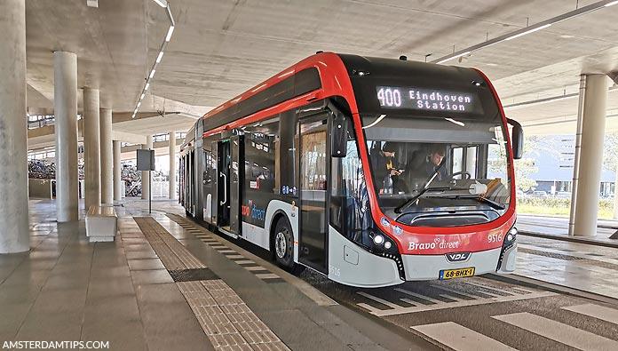 eindhoven airport bus 400 bravo