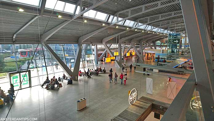 eindhoven airport inside terminal building