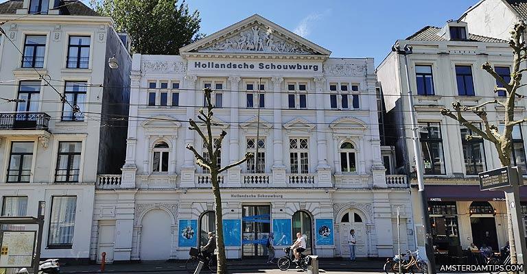 National Holocaust Memorial - Hollandsche Schouwburg in Amsterdam