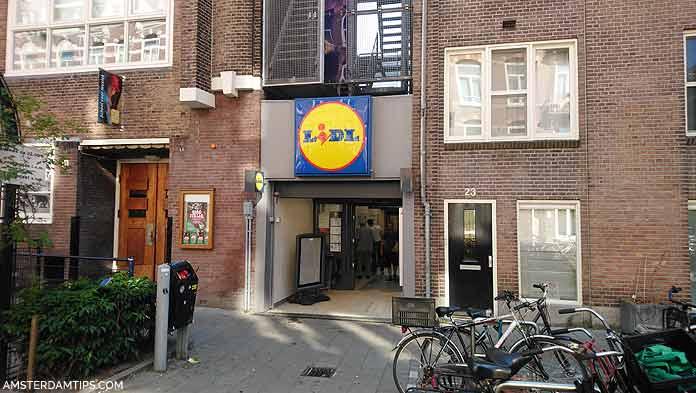 lidl supermarket amsterdam