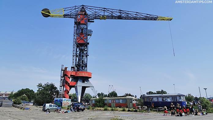 ndsm wharf crane
