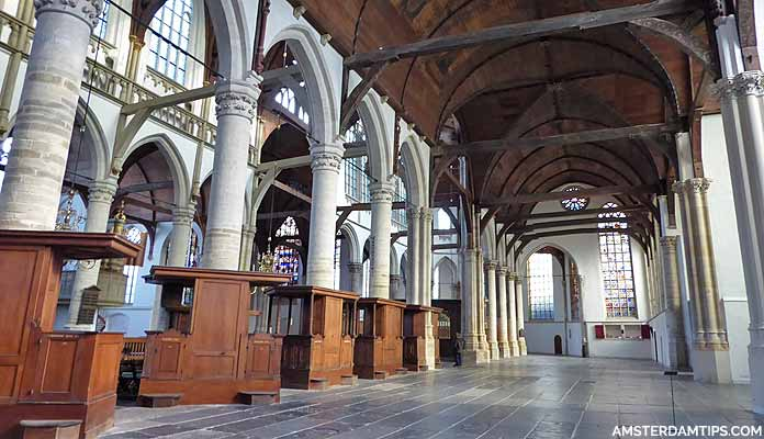 oude kerk church amsterdam