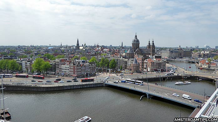 skylounge amsterdam panoramic view
