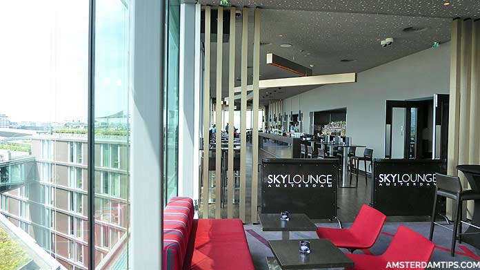 skylounge doubletree hilton amsterdam central