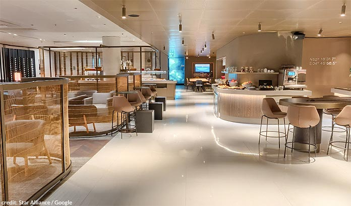 star alliance schengen lounge amsterdam