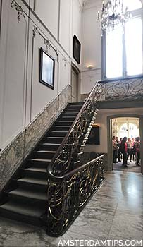 van loon museum staircase