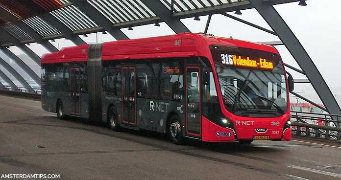 waterland bus amsterdam
