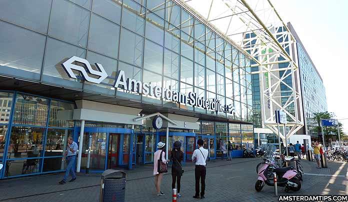 sloterdijk station in amsterdam