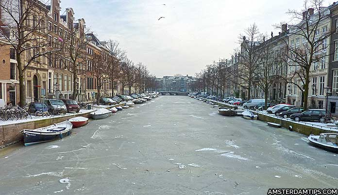 amsterdam weather in winter