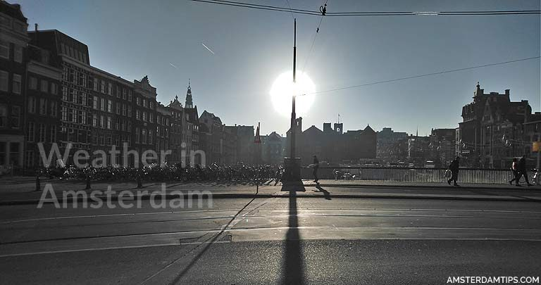 weather in amsterdam