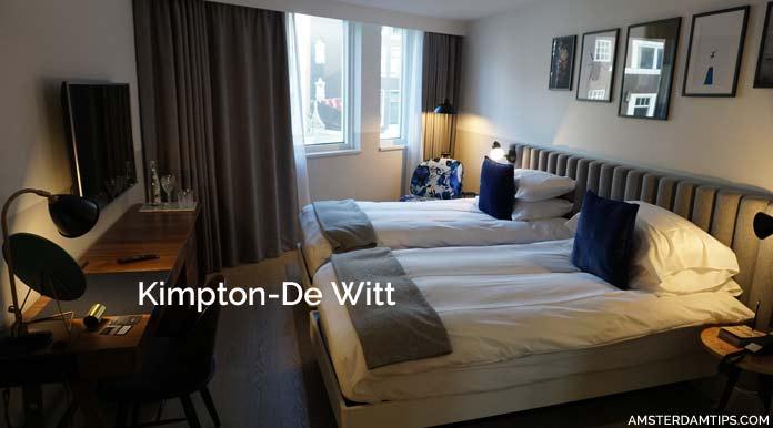 kimpton de witt hotel room amsterdam