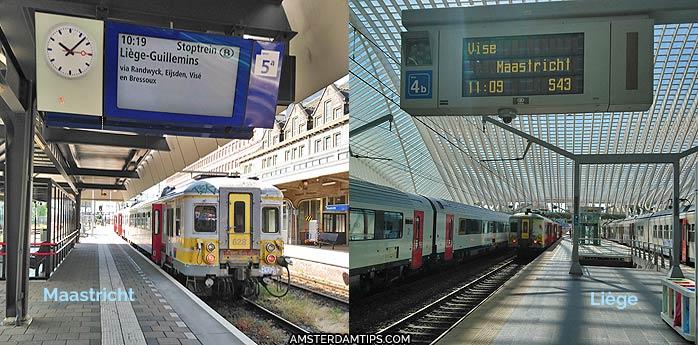 liège-maastricht train belgian railways