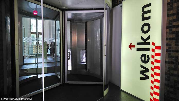 stadsarchief amsterdam entrance door