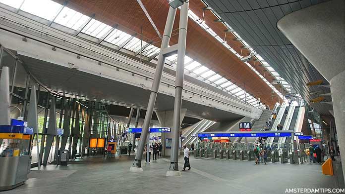 amsterdam bijlmer arena station hall