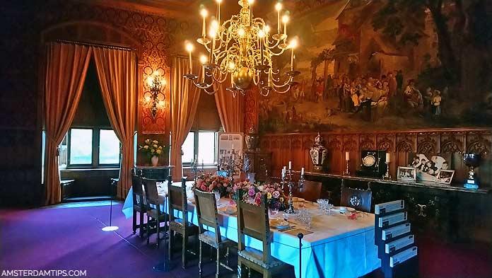 de haar castle dining room