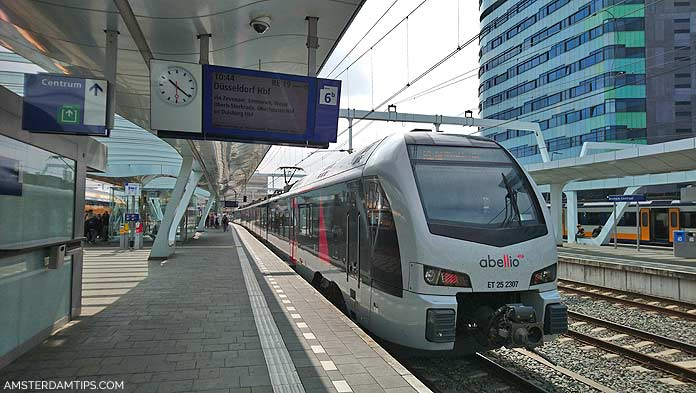 arnhem dusseldorf train abelio