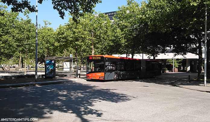 elandsgracht amsterdam bus stop