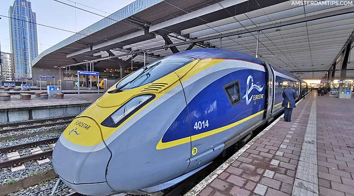 eurostar train london-rotterdam