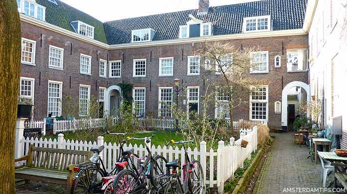 free amsterdam hofjes
