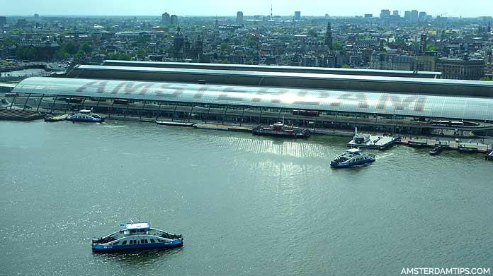 gvb ferry terminal amsterdam central