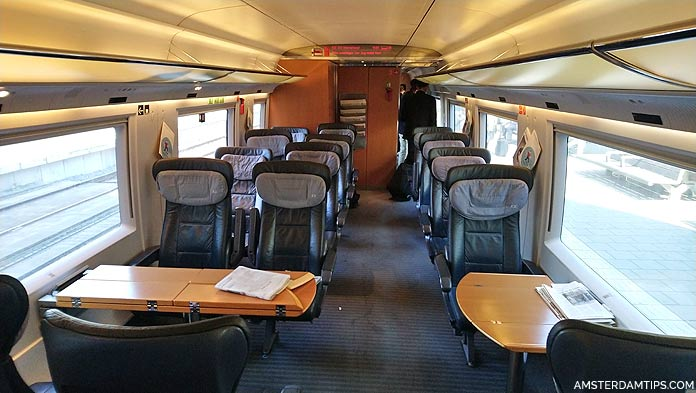 ice train first class seats
