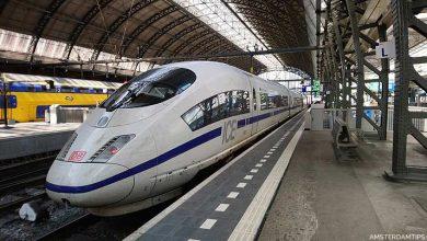 ice train amsterdam - international rail