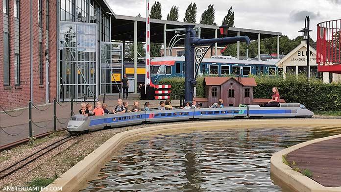 jumbo express children's train spoorwegmuseum utrecht