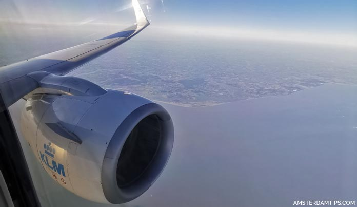 klm flight london amsterdam