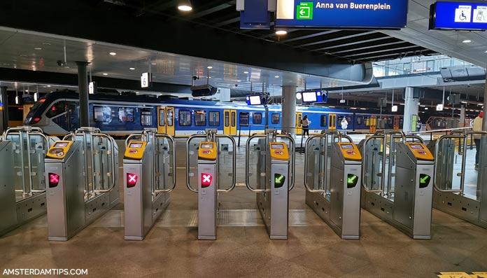 ns dutch railways gate barriers