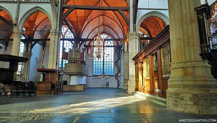 oude kerk old church amsterdam