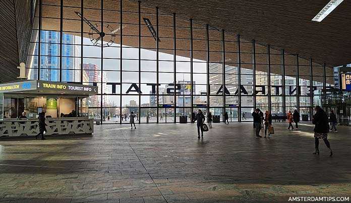 rotterdam central station hall