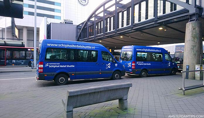 connexxion schiphol hotel shuttle bus