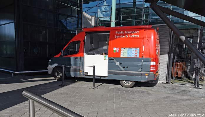 schiphol transport tickets minivan