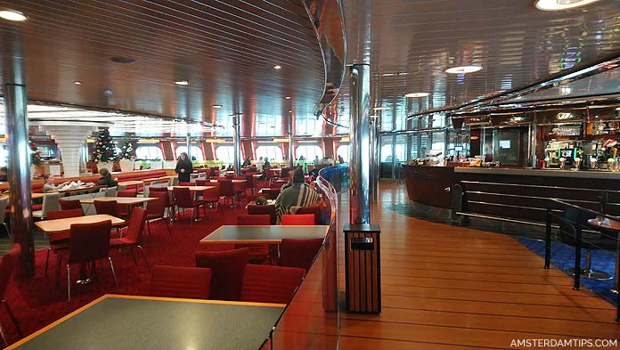 stena line ferry cafe seating area