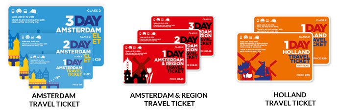 travel tickets amsterdam