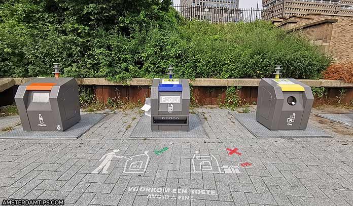 recycle bins amsterdam