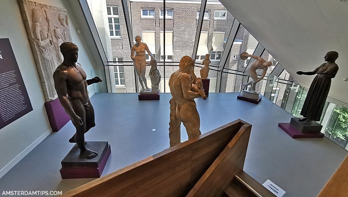 allard pierson museum amsterdam statue casts