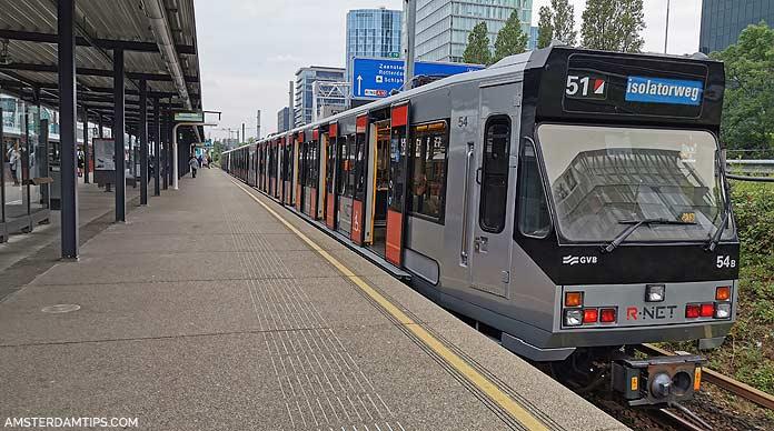 amsterdam metro 51