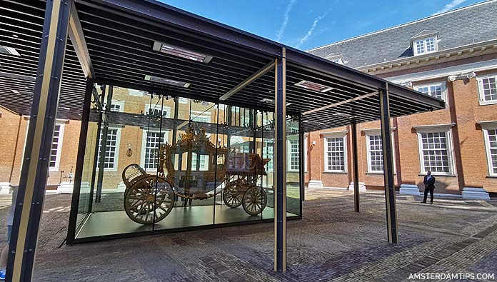 golden coach at amsterdam museum