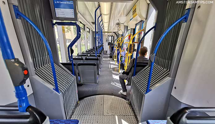 amsterdam tram seats